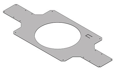 "6.5"" Metal Pre Construction Bracket"