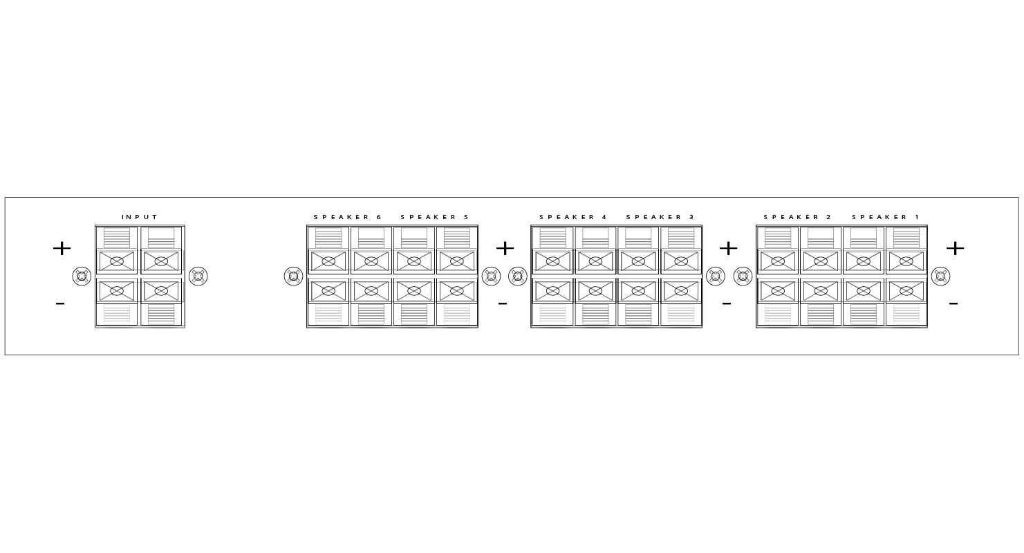 Speaker Selectors Outdoor Audio Wiring For Speakers Line Art