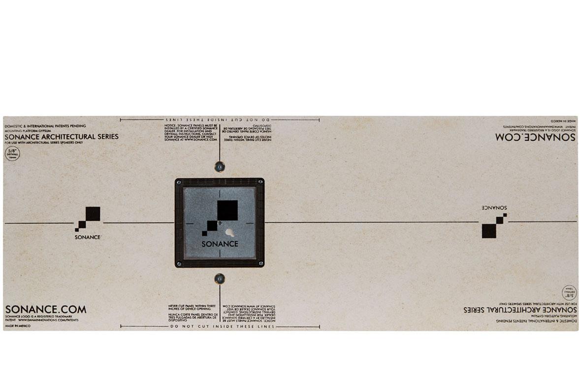"1/2"" Discreet Gypsum Mounting Platform"